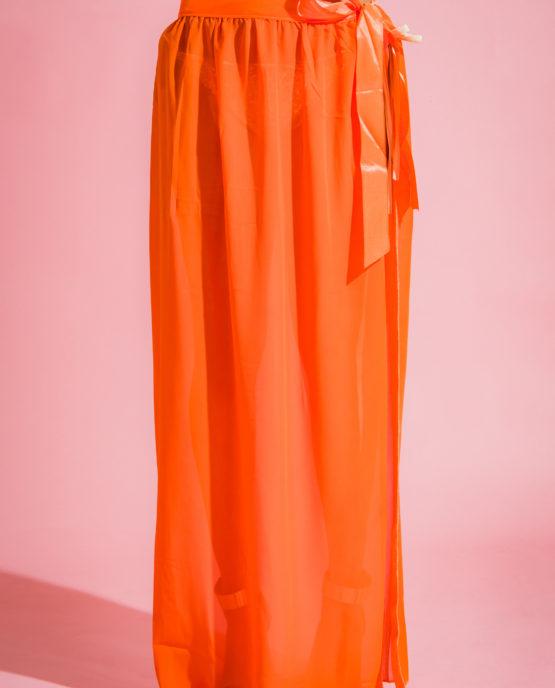 Mohani Orange Skirt