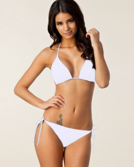 white bikini set SS18