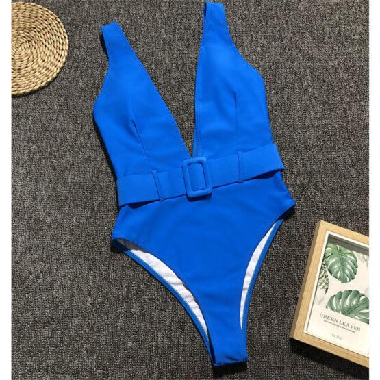 mohani blue swimsuit